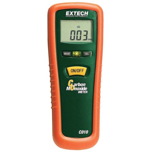 CO Alarm Extech Koolmonoxide meter CO10