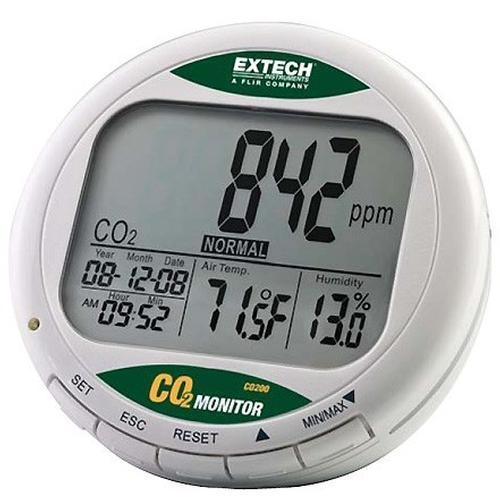 Thermometers Extech CO200 CO2 meter