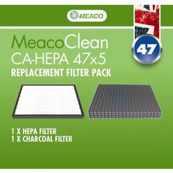 Meaco Clean CA HEPA 47x5 Filter Pack